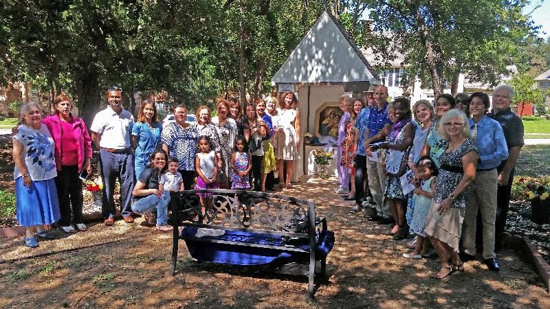Wayside Shrine at St. Ann's Parish in Coppell- 10 Year Anniversary Celebration